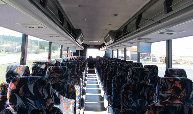 Bus Tour Interior