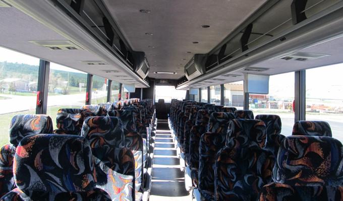 Bus Tour Interior