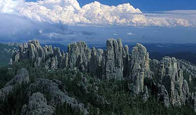 Spires in the Black Hills